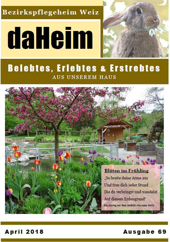 """Heimzeitung """"daHeim"""" 2018-04"""