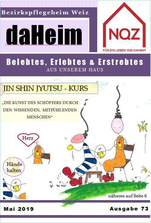 """Heimzeitung """"daHeim"""" 2019-05"""